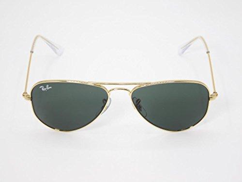 Ray-Ban Kids' 0rj9506s223/7152junior Aviator Sunglasses, Gold, 52 - Ban Aviator Prescription Sunglasses Ray