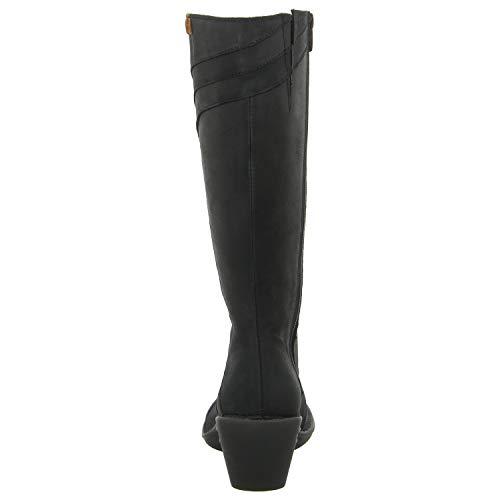 Donna Black Stivale Con aqua A Pleasant Tacco Zip Nero N5329 black 7HXnxq