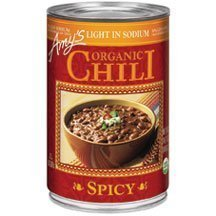 Amy's Kitchen Organic Spicy Chili Low Sodium (Pack of 12) - Pack Of 12