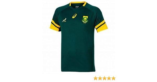 Producto Oficial de Sudáfrica Springboks Rugby Camiseta de Asics ...