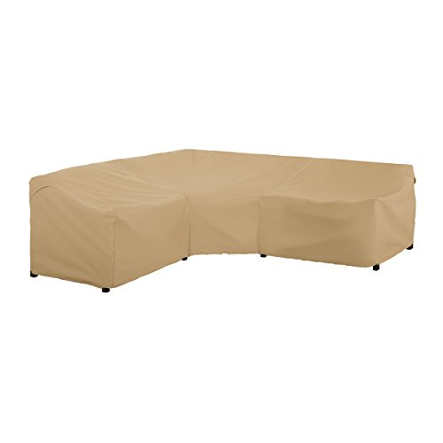 Classic Accessories Terrazzo Patio V-Shaped Sectional Sofa Cover, V-Shaped