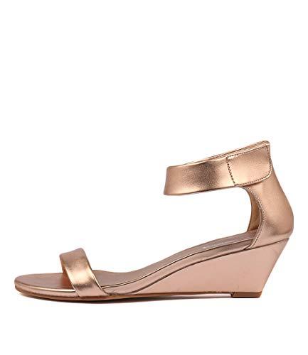 I LOVE BILLY Miesha Womens Shoes Medium Heels Summer Wedges ROSE GOLD SMOOTH
