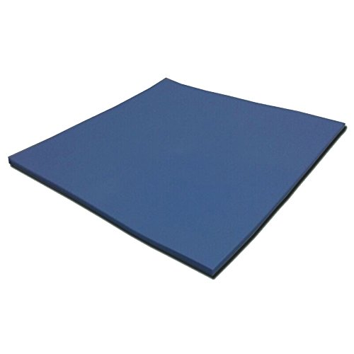 LMS Blue Soft High Termperature Heatsink Silicone Thermal Pads For 3d Printing 200 x 200 x 0.5mm 2 Pack