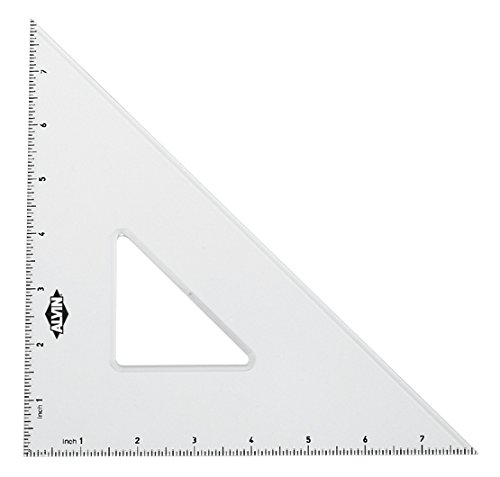 Alvin 10-Inch, 30/60 and 8-Inch 45/90 Triangle Set (ANLX810G)