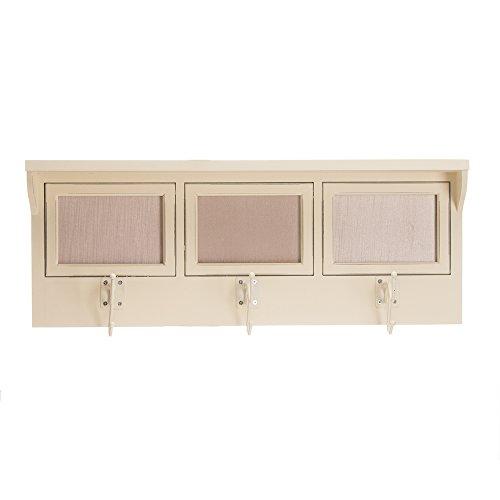 - Glenna Jean Anastasia Photo Hanger Shelf, Cream
