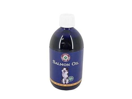 (2 unidades) pescado 4 perros y gatos perros - Aceite de Salmón 500 ml botella: Amazon.es: Productos para mascotas