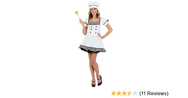 Amazon Com Sexy Chef Costume Clothing