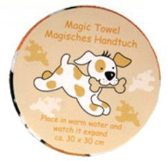 Magic Towel Puppy Expanding Face Cloth ootb 31/4012 puppy