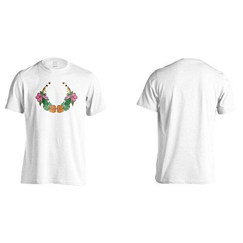 Neue Packung Hand Gezeichnet Floral Herren T-Shirt l140m