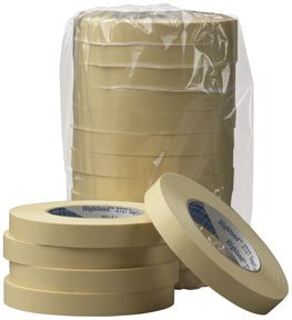 3M 6543Cs 24-Cs 2 in. 2727 Mask Tape Highland Masking Tape 2727, 48 Mm X 55 M