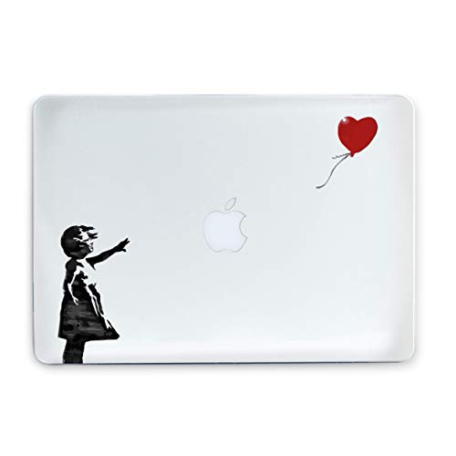- Banksy Girl With Balloon Macbook Air Case With Printed Bottom Hard Mac Pro Case for Mac Book Air 13 in Air 11 Pro 13 2016 Pro 15 inch 2017 Pro Retina 15 MacBook 12 Retina MA3000