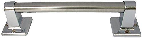 (LASCO 35-0151 Grab Bar Set, Chrome Plated Finish, 7/8-Inch OD X 9-Inch, 2.5L x 3.25W x 9H)