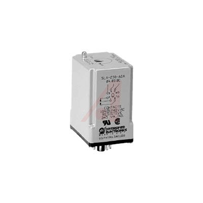 ATC SLA-230-ALA Monitor/Relay, 190-270 Adjustable Operating Voltage, Lock Shaft, Octal Plug-In, Dust Cover by Atc