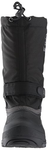 Pictures of Kamik Girls' Waterbug5 Snow Boot Black/Charcoal NK4771S 6