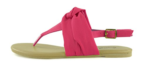 Fuschia Donne Shoe Ballerina Shoes On Slip Giovani Detailed Comfortable Womens Flat vqHFTg