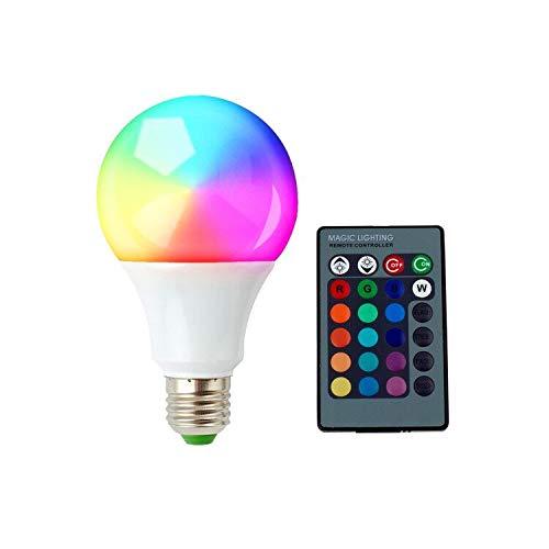Orange Lamp Motion - SUPERNIGHT E27 5W PIR Motion Sensor Detector LED Light Bulb Motion Activated Night Lamp for Garage Door Closet Cabinet Porch, 360 Degrees Adjustable, 2 Mode, Warm White Light (RGB 1pcs)