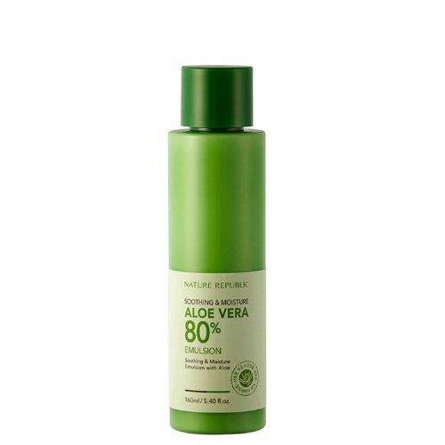 Soothing & Moisture Aloe Vera 80% Emulsion