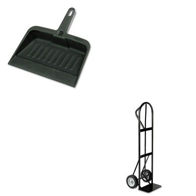 KITRCP2005CHASAF4071 - Value Kit - Safco Tuff Truck Economy Truck (SAF4071) and Rubbermaid-Chrome Heavy Duty Dust Pan (RCP2005CHA)