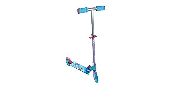 Patinete 2 ruedas plegable de Frozen (st. 4): Amazon.es ...