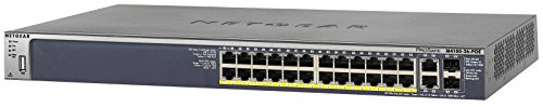 NETGEAR ProSAFE M4100-26-POE 24 Port Fast Ethernet Managed Switch w/ PoE 10/100 Mbps by NETGEAR (Image #4)