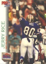 (1992 Pro Set #418 Jerry Rice Pro)