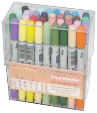 Copic Markers Ciao 36-Piece A Stamping Set by Copic Marker