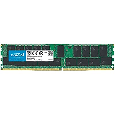 Crucial CT32G4RFD4266 DDR4 2666 MT s  PC4-21300  CL19 ECC Registered DIMM 288-Pin Memory