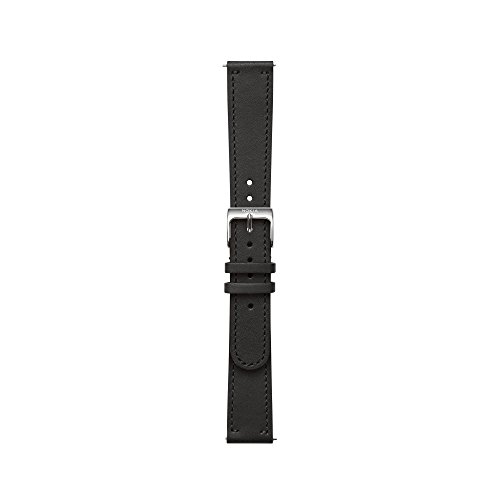 Nokia – Leather Wristband, Black, 18 mm