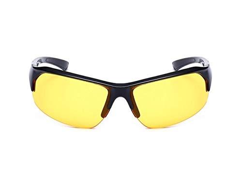 de vision UV400 Soleil Protection Soleil Jaune de de Cool voyager Lunettes Lunettes nocturne Femmes Yellow Lunettes Lunettes Hommes Cyclisme Huyizhi x7q1awnS