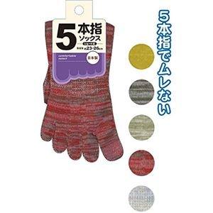 カラスネクタイ染料5本指ショートソックス 日本製 10個セット 34-742