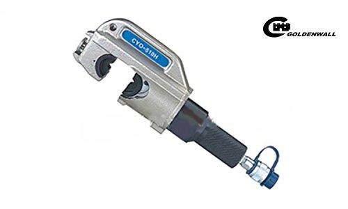 CGOLDENWALL CYO 510H手動式電動油圧圧着ペンチ ワイヤ ケーブル圧着工具 圧着能力:アルミ端子70-300mm2 銅端子50-400mm2(CYO-510H) B077HWH63T CYO-510H