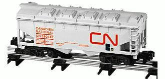 American Flyer 6-48621 Canadian National covered hopper 390342 removable top S