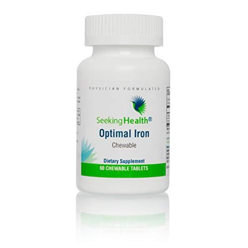 Seeking Health | Optimal Iron Chewable | Gentle Iron Supplem