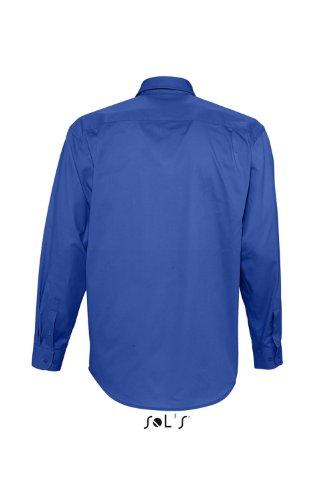 SOL´S - Twillhemd Bel-Air 3XL,Royal Blue
