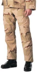 Rothco BDU Pant, Tri-Color Swat Cloth, X-Large