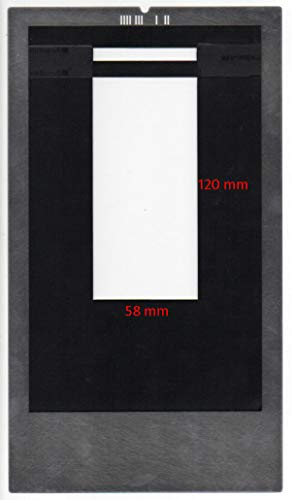 (FidgetFidget Film Holder for Imacon/Hasselblad Flextight scanners 6x12 with id Code, 58x120mm )
