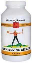100 % de gélatine bovine 14 oz par Bernard Jensen