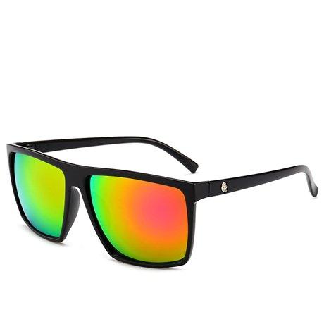 Hombres para de Diseñador sol Photochromic Gafas de hombre Espejo Orange de tamaño Gafas Multi Hombre GGSSYY Gafas sol la marca sol cuadradas de gran de wqnXaIY1