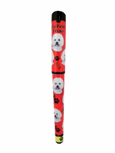 Bichon Frise Pen Easy Glide Gel Pen, Refillable With A Perfect Grip, Great For Everyday Use, Perfect Bichon Frise Gifts For Any Occasion