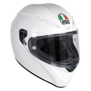 Agv White Helmet - 3
