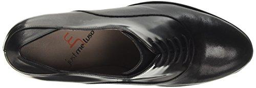 Donne nero Di Tacchi Fox nero Melluso L5221 Colore Delle Piattaforma wI0RaPq4