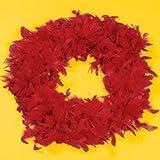 Red Feather Boa (6 Pcs) - Bulk [Toy]