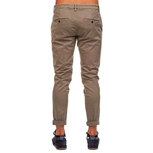 Dondup Uomo Marrone Up235gs0784pto720 Jeans Cotone 66Twqgr