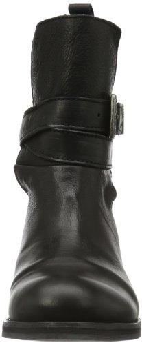 Diesel ROXY ROLL SASHAN - Biker Boots de cuero mujer negro - Schwarz (Black T8013)