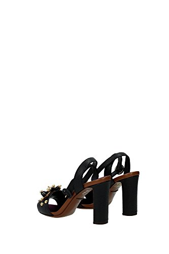 Schwarz EU CR0162AD35680999 Damen Dolce amp;Gabbana Sandalen Xw7qapZx