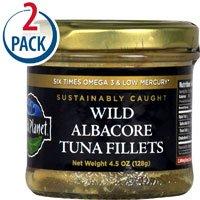 WILD PLANET: Wild Albacore Tuna Fillets, 4.5 oz - 5Pack