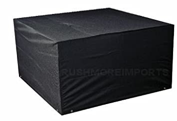 6 seater cube set cover designed to fit rattan garden furniture cube set