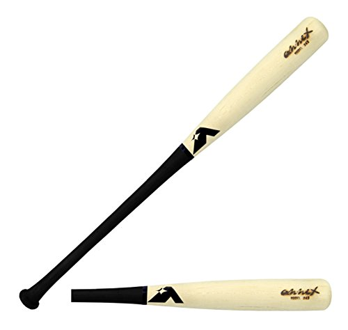 Annex Model 243 Maple Wood Baseball Bat (Matte Black Handle/Natural Barrel, 33-Inch/31-Ounce) (Baseball Natural Bat Maple)