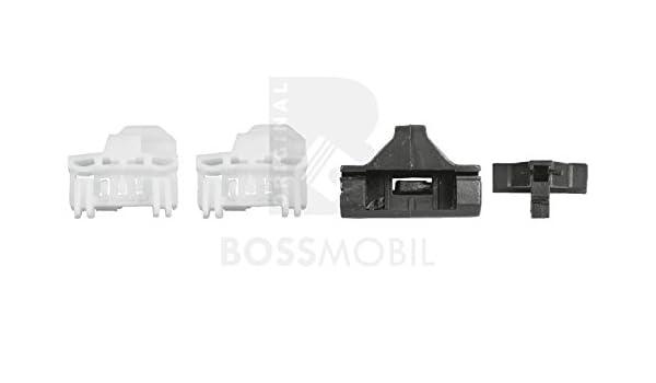 2//3 Puertas kit de reparaci/ón de elevalunas el/éctricos Delantero derecho Bossmobil Polo 6n1,6N2