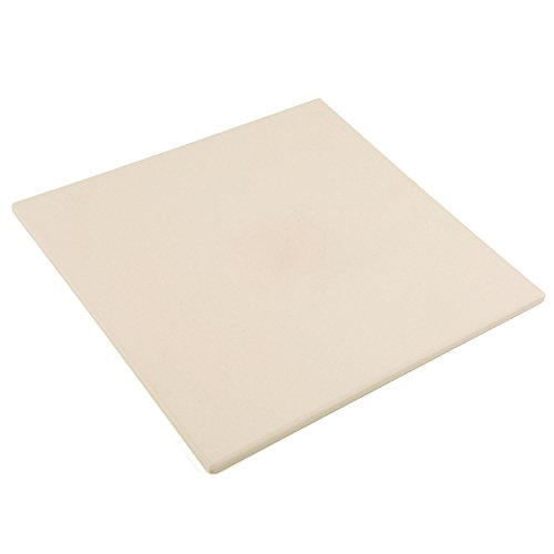Waykea 12-inch Square Cordierite Baking Pizza Stone for Grill or Oven